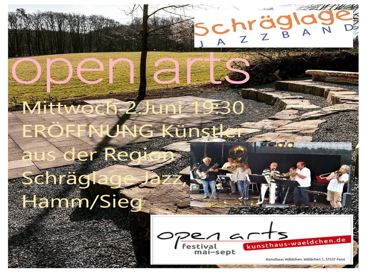 """""""Open Arts"""" geht in """"Schräglage"""""""