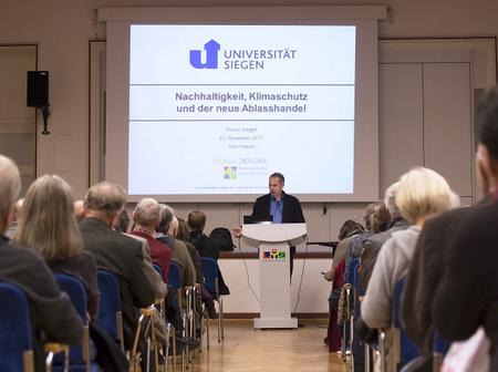 """Das """"Forum Siegen"""" widmet Marx und Raiffeisen eine Vorlesungsreihe. (Foto: Veranstalter)"""