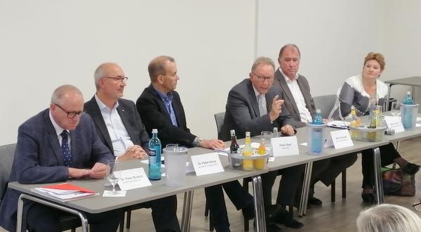 Forum l�ndlicher Raum zur Krankenhaus-Zukunft: Ein-Haus-L�sung als Chance