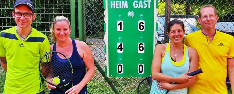 Florian Kluth und Nadine Hachenberg zum dritten Mal Mixedmeister