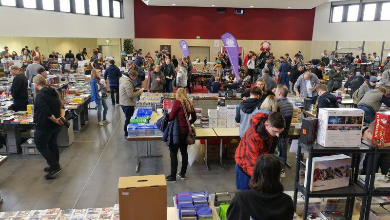 Stadthalle Montabaur verzauberte Retro Spieler aus ganz Deutschland