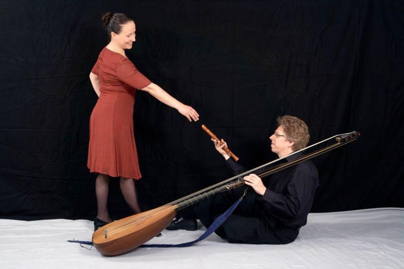 Barocke Musik auf historischen Instrumenten