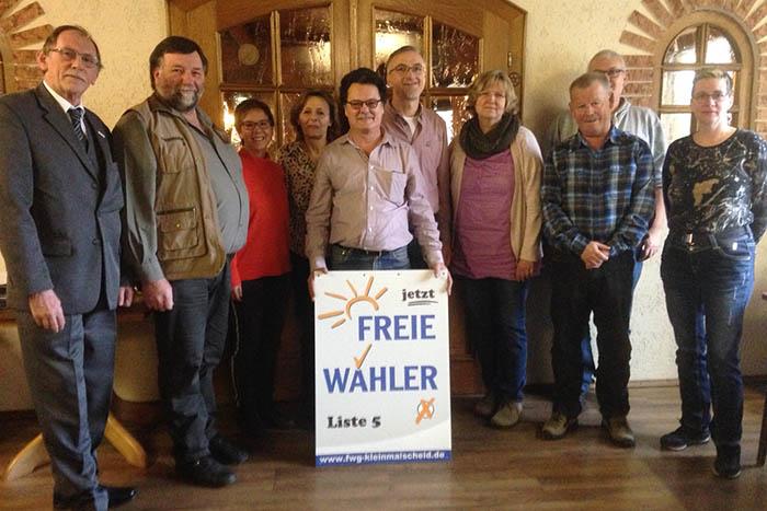 FWG Kleinmaischeid läutet Wahlkampf ein