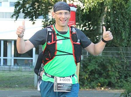 �K�lsche Naachschicht�: Frank Schultheis beim Nachtultralauf �ber 77 Kilometer