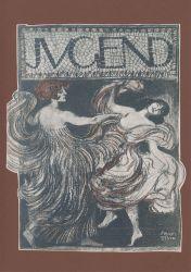 Franz von Stuck: Zwei Tänzerinnen (Titelblatt der Zeitschrift Jugend, Jg.2, Nr. 38, 1897). Foto: Mittelrhein-Museum