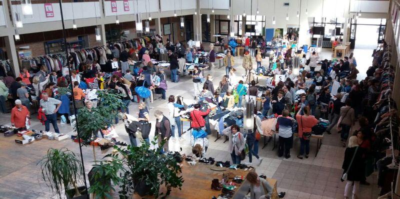 Frauensachenflohmarkt in Höhr-Grenzhausen in Vorbereitung