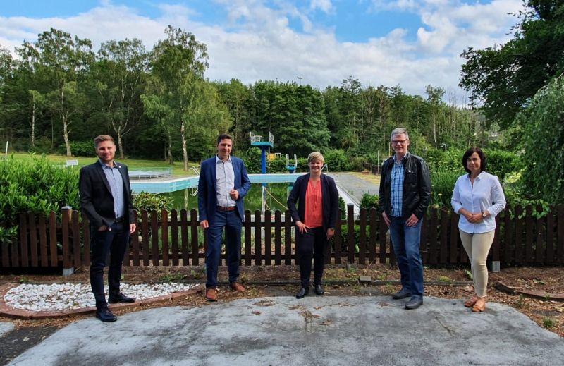 CDU Bad Marienberg steht zum Freibad in Unnau