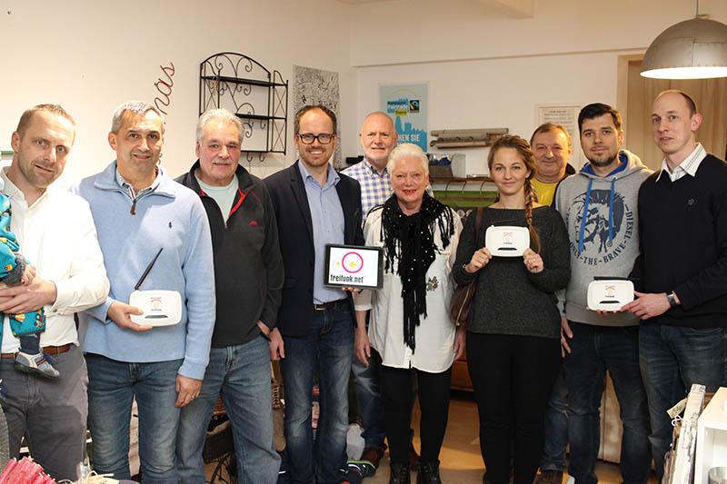 FWG und FDP Linz starten Initiative Freifunk Netz