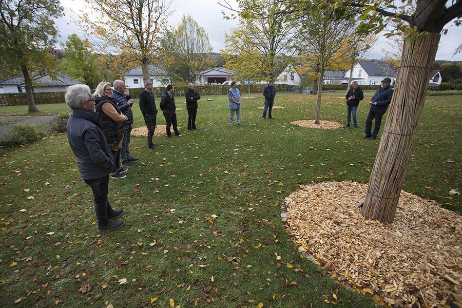Kirchspiel Urbach investiert in seinen Friedhof