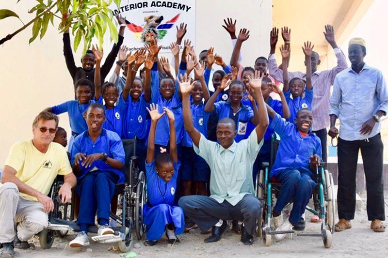 """""""Hachenburger Frischlinge"""": Schulbau in Serekunda macht gute Fortschritte"""