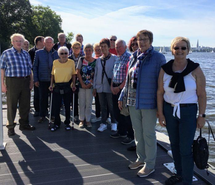 Fremden-Verkehrs-Verein Dernbach zu Besuch in Hamburg