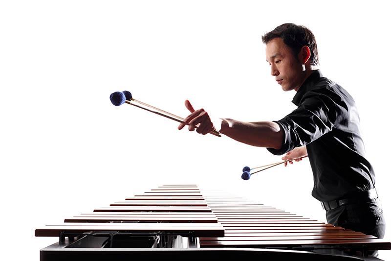 Seltenes Instrument: Internationaler Künstler aus Japan in Marktkirche