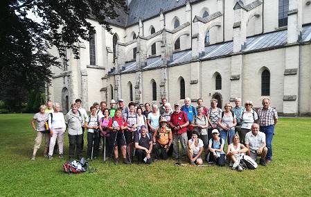 """Pilgergruppe """"Auf alten Pilgerwegen"""" zwei Tage unterwegs"""