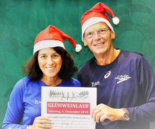 Erstmals Glühweinlauf in Hachenburg