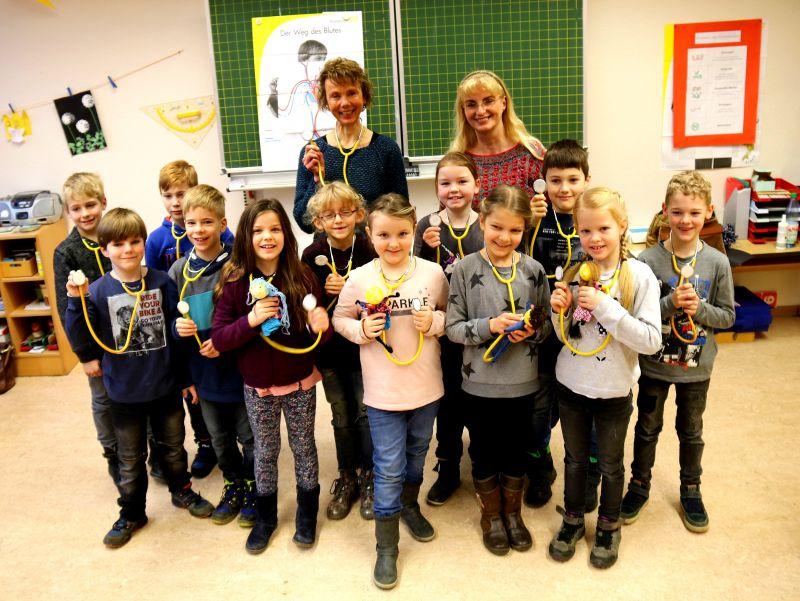 Teilnehmer am Klasse 2000 Projekt. Fotos: privat