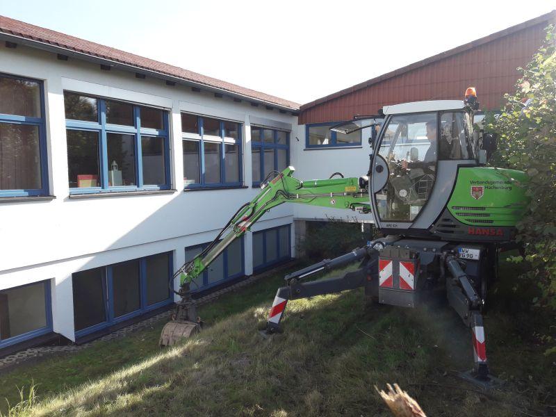 Außenspielgelände der Grundschule Borod wird neu gestaltet