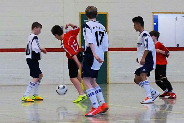 Hallen-Fußballturnier der Ganztagsschulen in Hachenburg