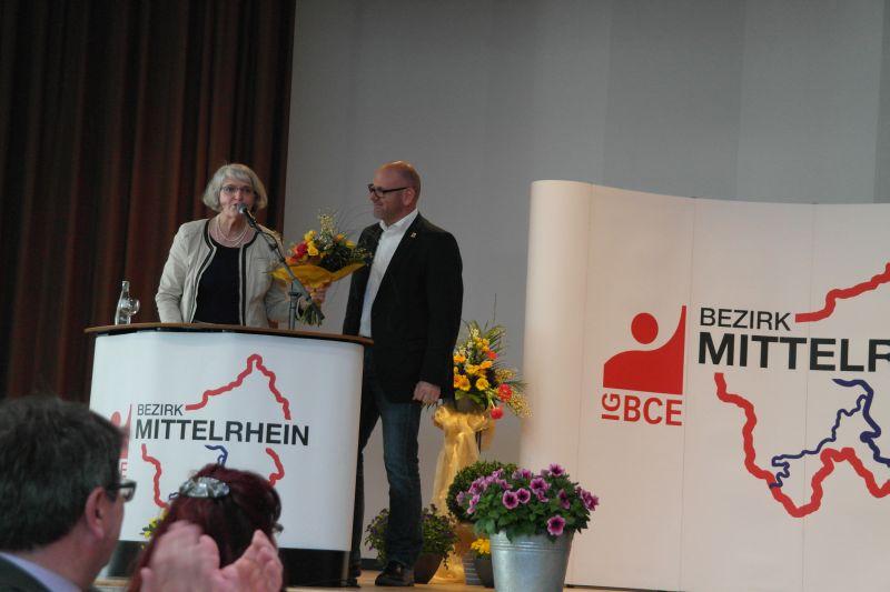 Gabi Weber zu Gast beim Seniorentag der IG BCE Mittelrhein