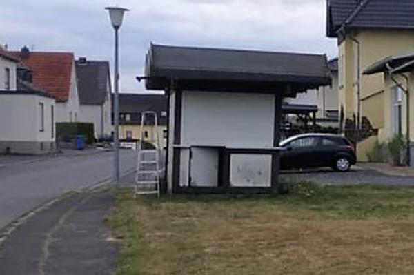 Hässliche Hütte in Kalenborn ist endlich weg