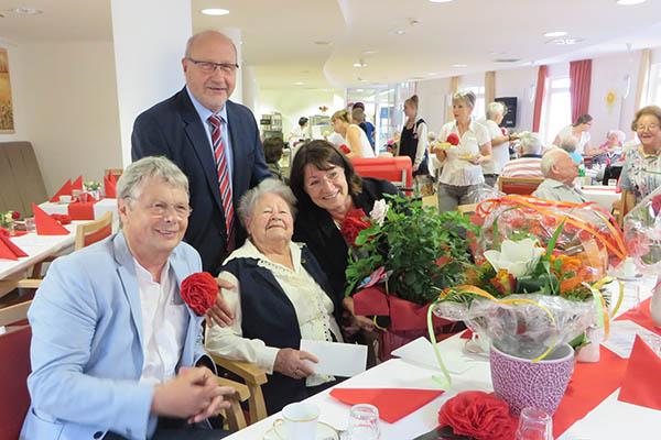 Johanna Mayhack feierte ihren 106. Geburtstag