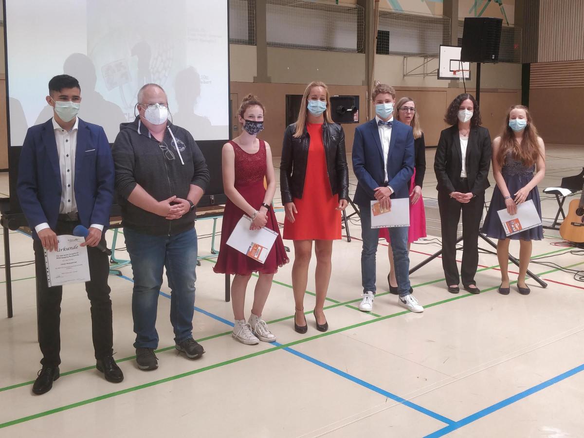 Stimmungsvolle Abschlussfeier an der Westerwaldschule Gebharshain
