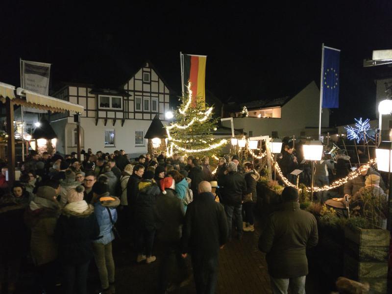 Gebhardshainer Hüttenzauber sorgte für Weihnachtsstimmung