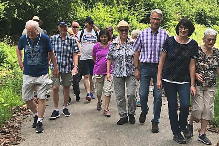 Gemarkungswanderung rund um Ellingen