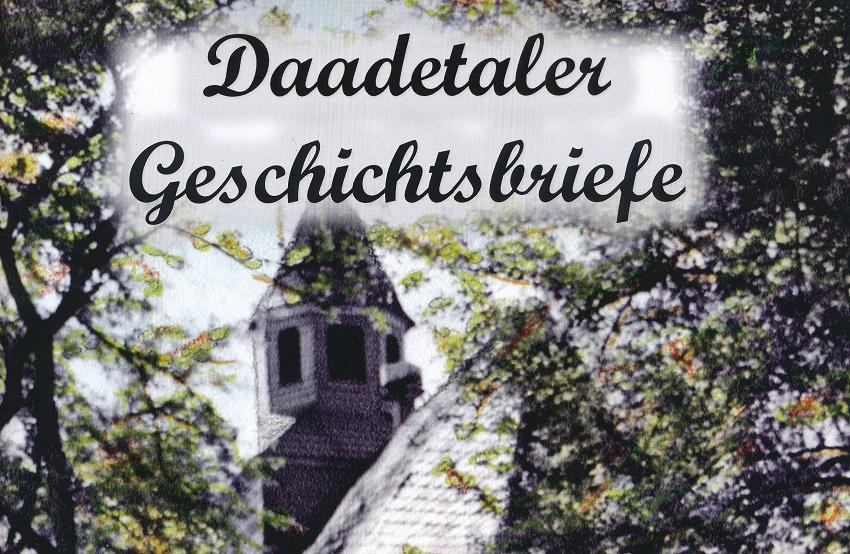 """Neues Heft der """"Daadetaler Geschichtsbriefe"""" erschienen"""