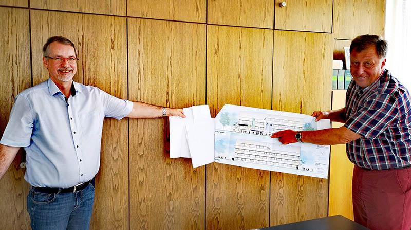 Sven Lefkowitz zu Besuch bei der VG Dierdorf