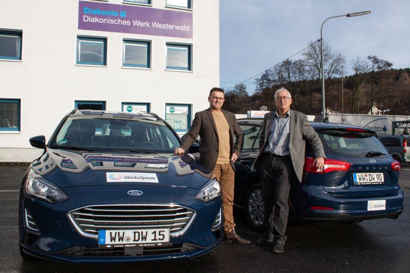 Diakonie erhält zwei neue Dienstfahrzeuge
