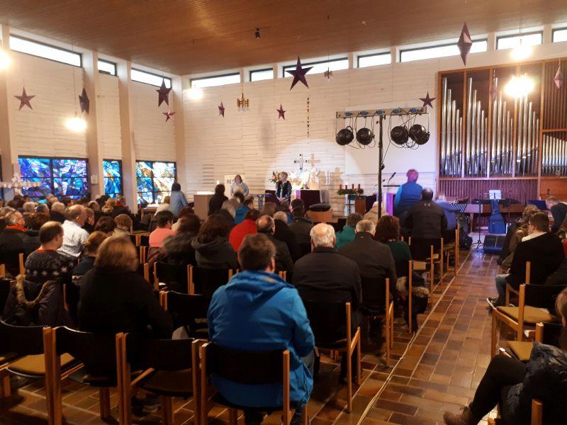 """Stimmungsvoller """"Go In"""" in der Lutherkirche"""