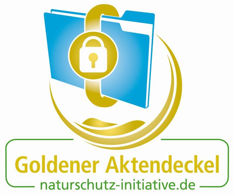 """Die Naturschutzinitiative verleiht den """"Goldenen Aktendeckel"""""""