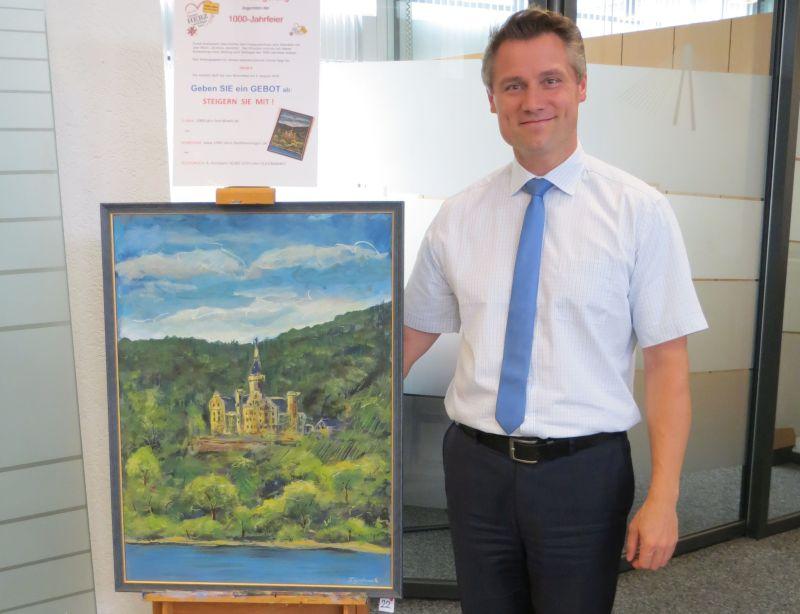 """Gemäldeversteigerung für """"1000-Jahrfeier"""" Bad Hönningen"""