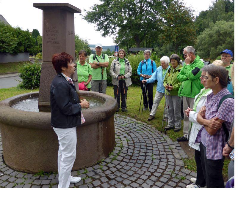 Westerwaldverein Bad Marienberg auf den Spuren der Hugenotten