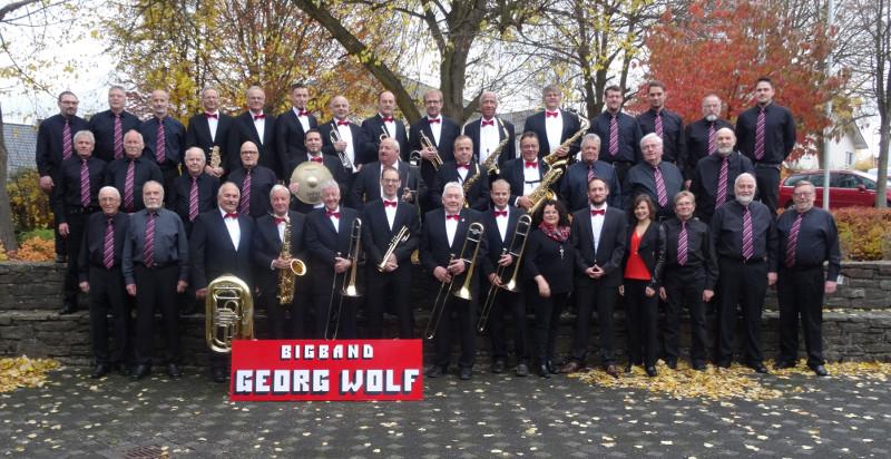 Die Big Band Georg Wolf steckt gerade mitten in den Proben für das Nenefizkonzert. Foto: Big Band Georg Wolf