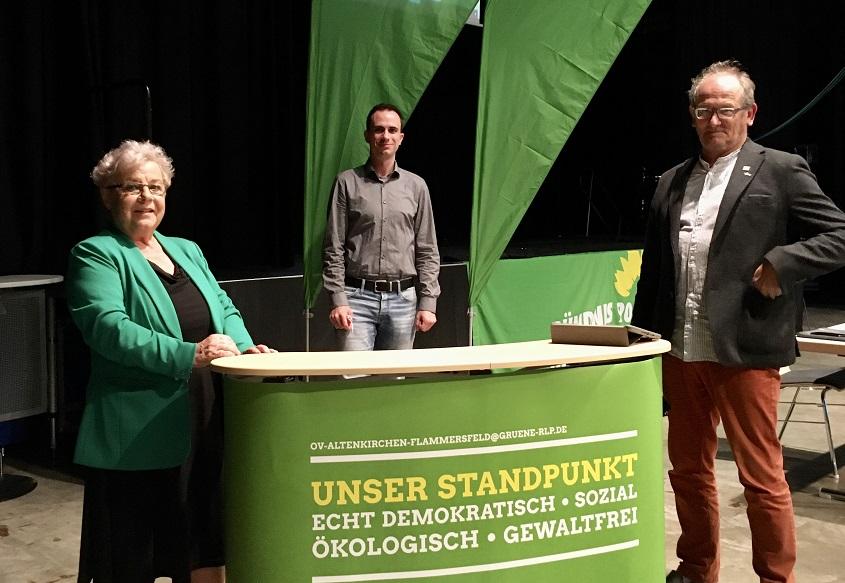 Anna Neuhof und Ulli Gondorf sollen für die Grünen nach Mainz