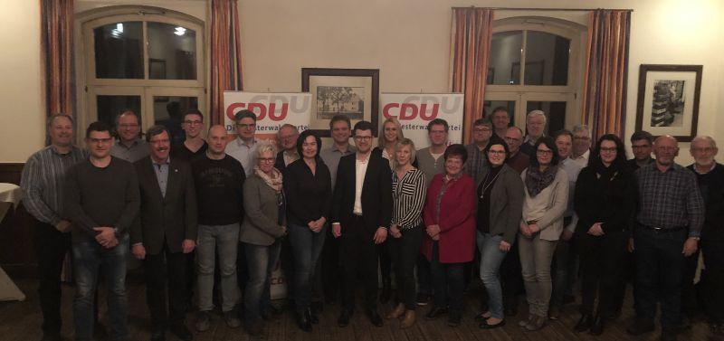 Hachenburger Christdemokraten stellen breites personelles Angebot für VG-Wahl