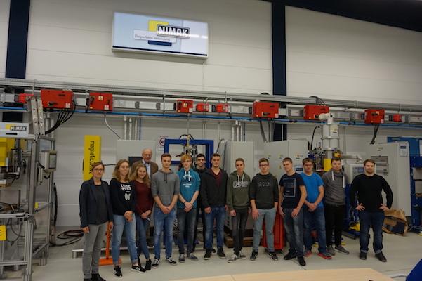 Workshop ermöglichte Schülern Einblicke in die Tätigkeiten von Ingenieuren