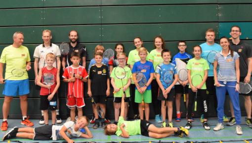Badminton: Aktive der DJK Gebhardshain beim Workshop in Bad Marienberg