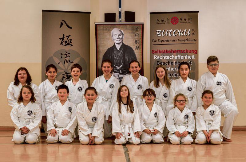Karate-Anfänger SV Borod-Mudenbach. Foto: privat