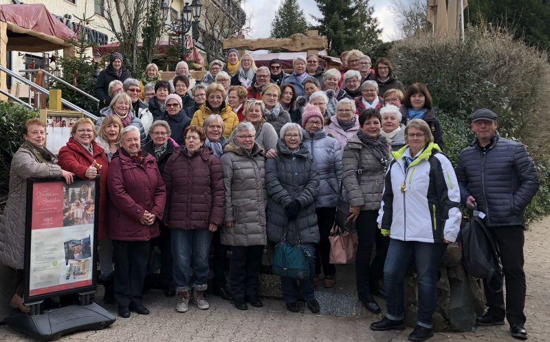 Jahresabschluss führte die Land-Frauen nach St. Wendel