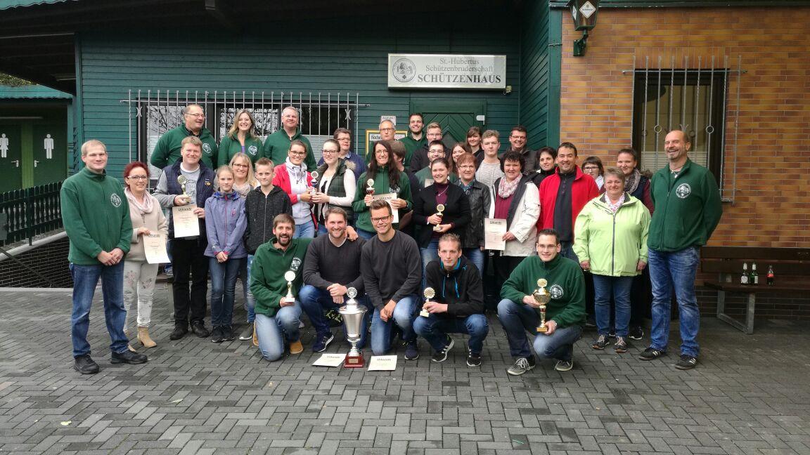 Pokalschie�en der St.-Hubertus-Sch�tzenbruderschaft gut besucht
