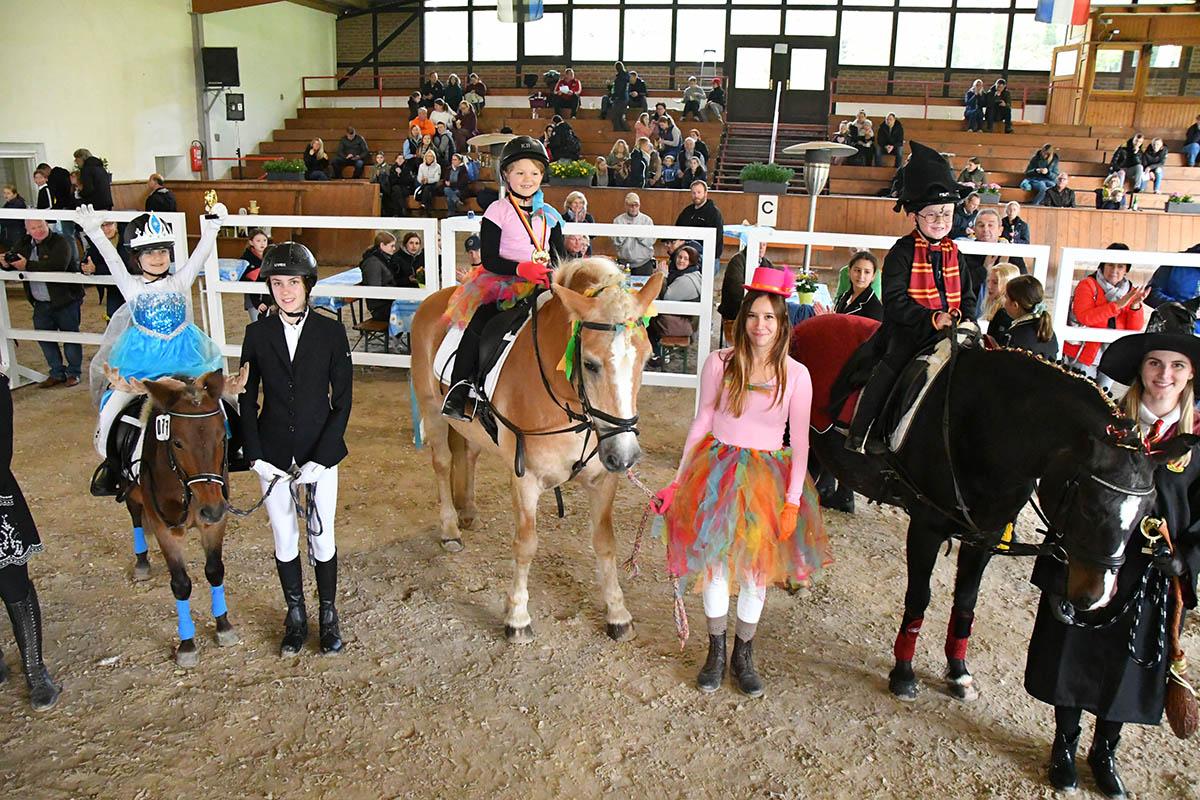 Kurtscheider Reitertag: Kostümwettbewerb begeisterte Nachwuchs und Zuschauer