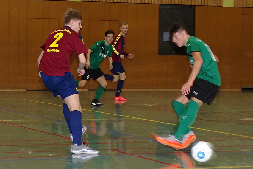 A-Junioren SG Betzdorf unangefochten Hallenkreismeister