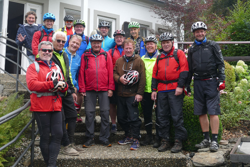 Hachenburg war Ausgangsort der Fahrradtour des VfL Dermbach