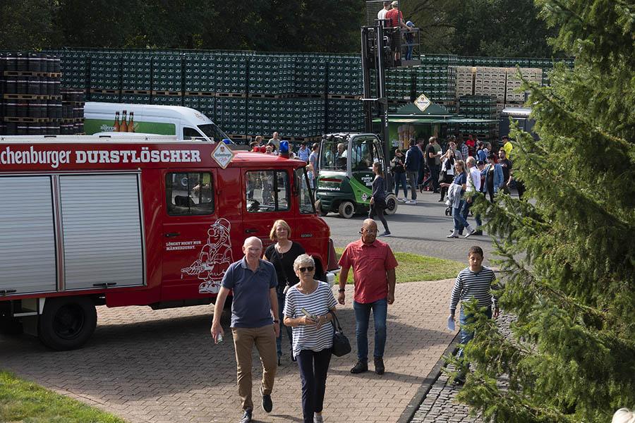 Hachenburger Brauerei öffnete ihre Türen und 10.000 Besucher kamen
