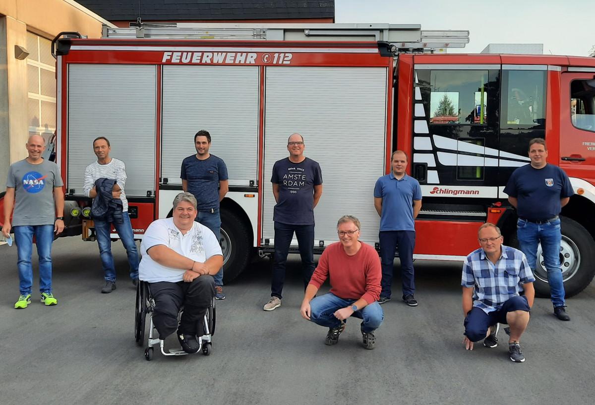 Förderverein der Feuerwehr Hamm hat silbernes Jubiläum