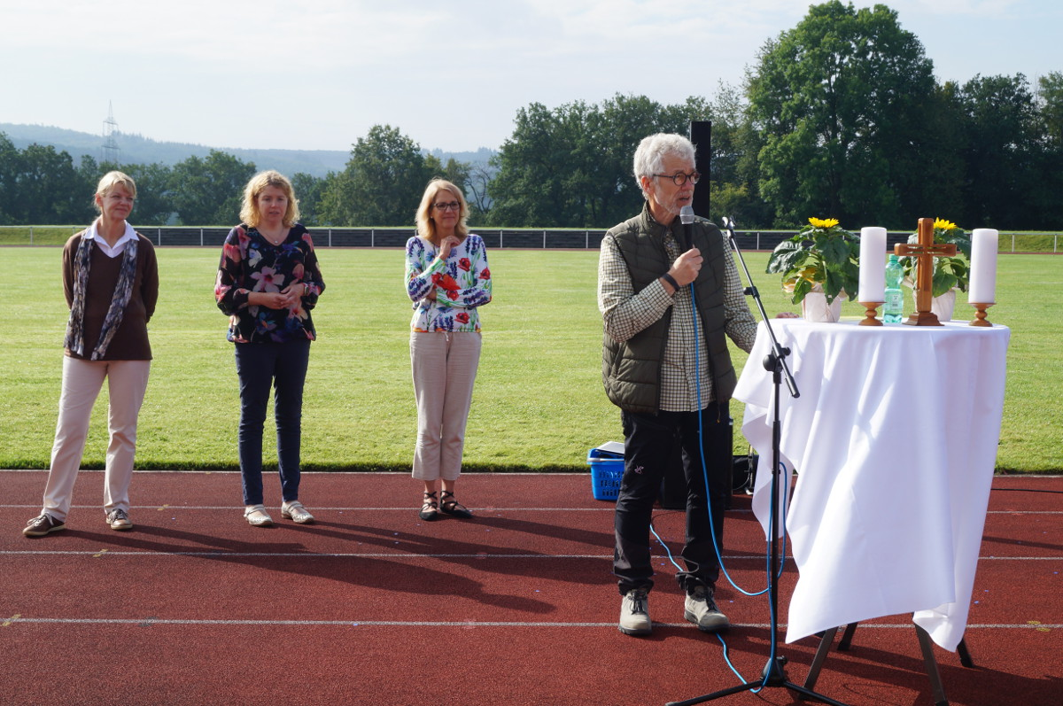 Feierliche Begrüßung der neuen Fünftklässler an der IGS Hamm/Sieg