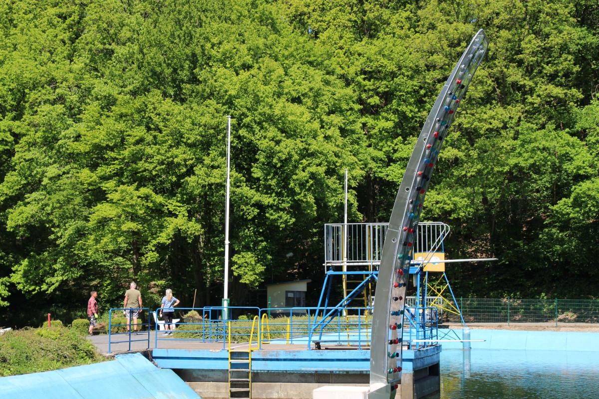Das Waldschwimmbad Thalhauser Mühle öffnet wieder