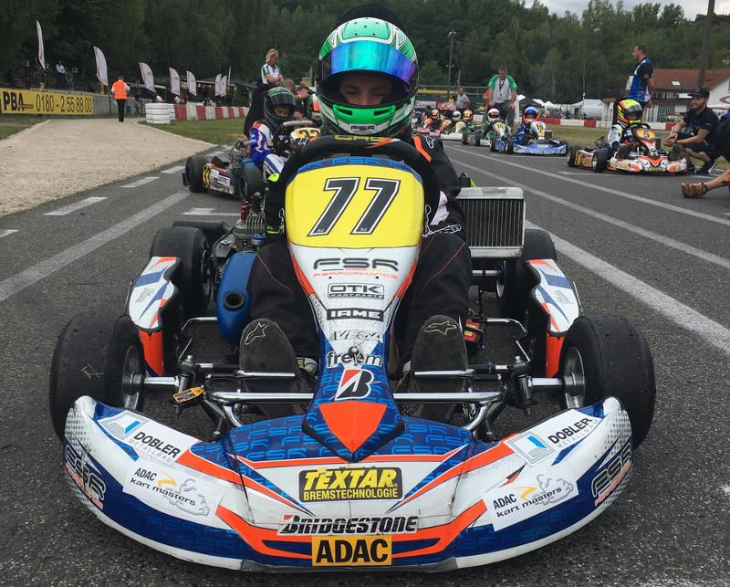 Pablo Kramer �bernimmt die F�hrung bei den ADAC-Kart-Masters